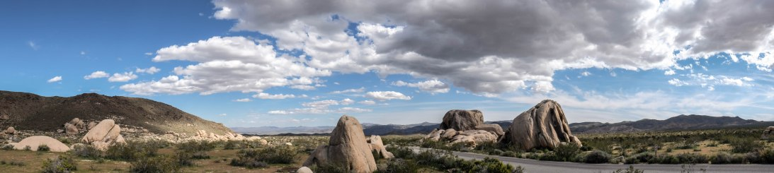 Joshua Tree Rocks Pano